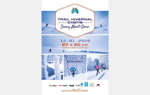 Trail hivernale du Sancy